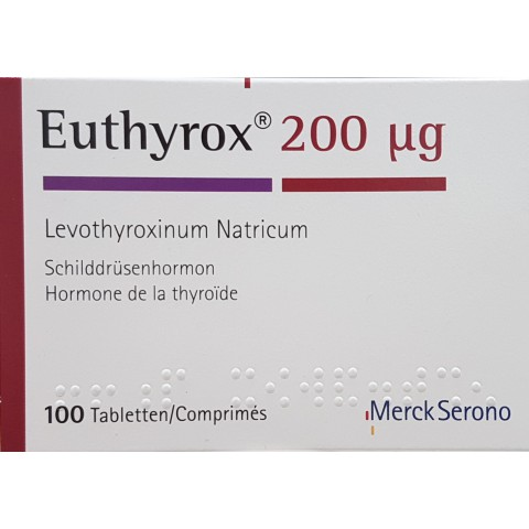 EUTHYROX 200 microgrammes (100 comprimés)