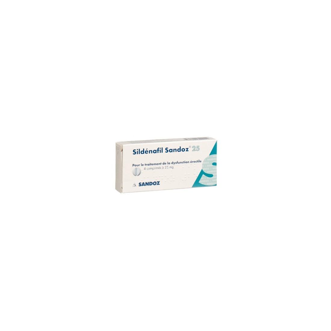 sildenafil 25 mg