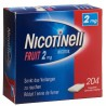 NICOTINELL Gum 2 mg fruit 204 gommes